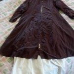 Making a Garment Bag from a Table Cloth